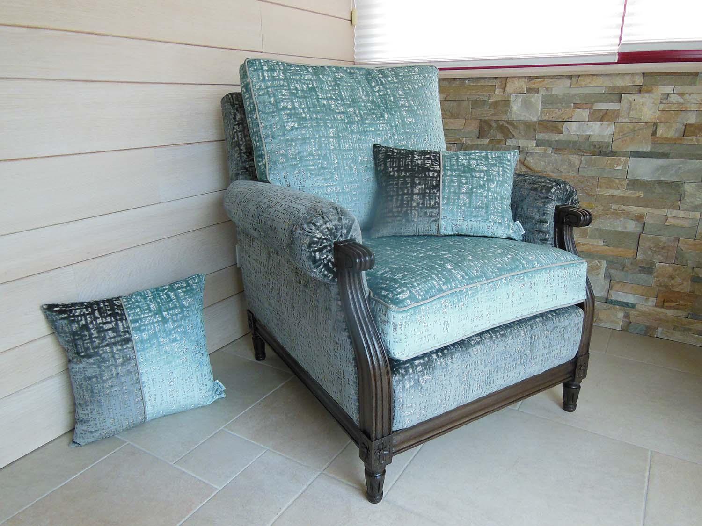 Rénovation complète d'un fauteuil ancien