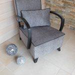 Rénovation complète d'un fauteuil année 40