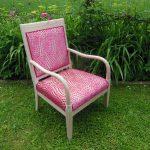 Rénovation d'un fauteuil Italien