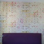 Revêtement mural dans une chambre à Strasbourg