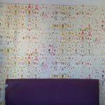 Revêtement mural pour une tête de lit pétillante à Strasbourg