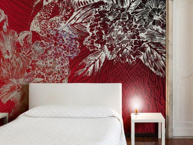 Revêtement mural d'une tête de lit