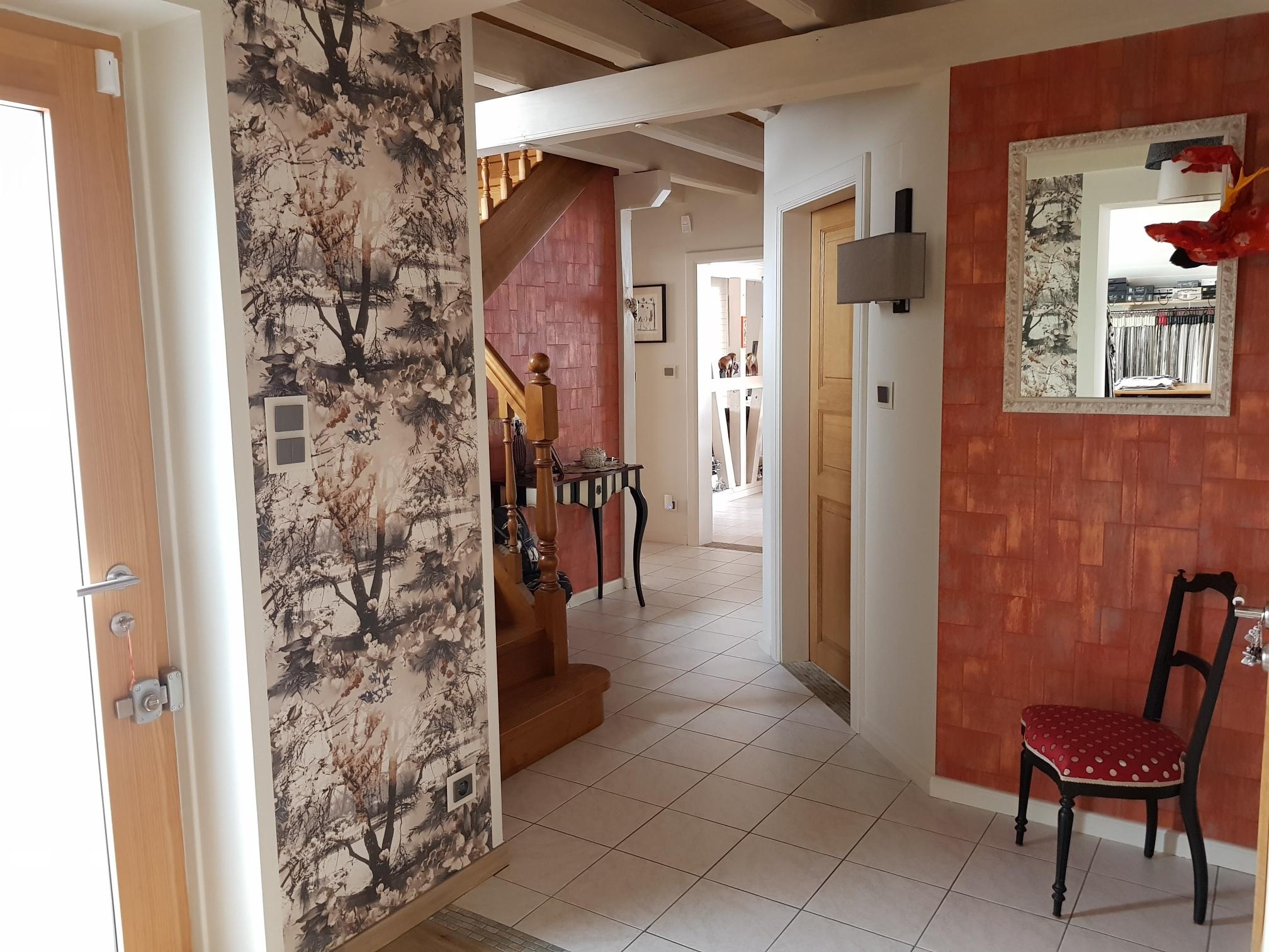 Aménagement d'une entrée et couloir